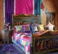 Спальня в индийском стиле