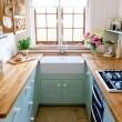 Идея для маленькой кухни фото