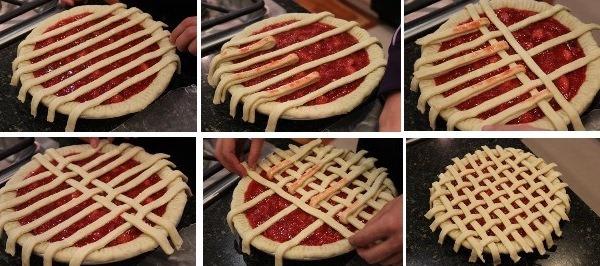 как сделать украшения из теста на пирог