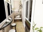 Идеи интерьера балкона с фото